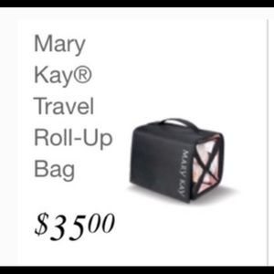 NWOT! Mary Kay Roll-Up Travel Bag!